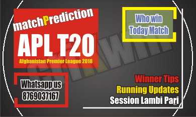 APL 2018 Balkh vs Kabul 14th APL T20 Today Match Prediction