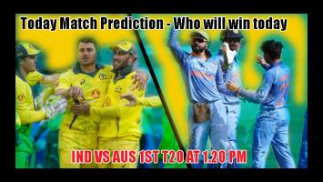 India vs Australia 1st T20 Match Tips.