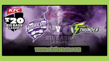 BBL 2018-19 11th Match Hobart vs Thunder Toss Lambi Tips