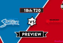 BBL 2019 18th Match Melbourne Renegades vs Adelaide Strikers Toss Lambi Tips