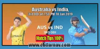 AUS vs IND 3rd ODI Match Prediction IND vs AUS Toss Lambi Tips