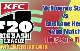 BRH vs MLS BBL 42nd Match Prediction MLS vs BRH Toss Pari Tips