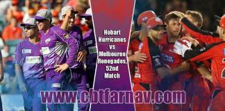 BBL T20 52nd Match Prediction HBH vs MLR Toss Pari Session Tips
