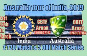 India (IN) vs Australia (AUS) Series - Today Match Prediction Tips