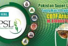 PSL 2019 Match Prediction - Pakistan Super League 2019