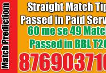 PSL 2019 QTG vs ISU 6th T20 Today Match Prediction Cricket Win Tips