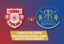 IPL 2019 Prediction RR vs KXIP 4th Match 100% Sure Toss Fancy Lambi Pari