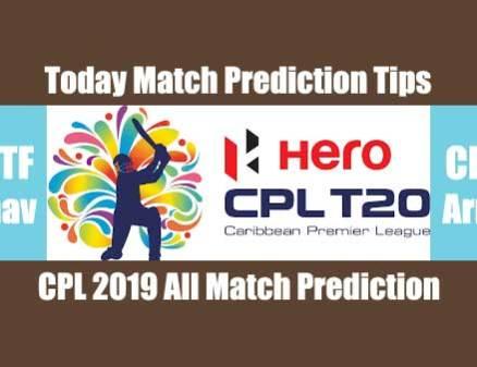 Today Match Report Jamaica vs Patriots CPL 2019 7th CBTF Tips