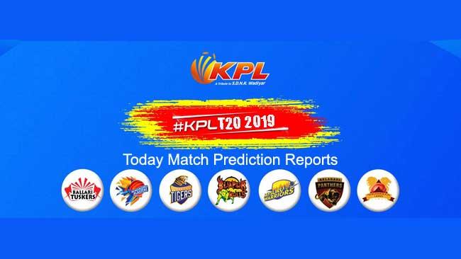 KPL 2019 Bengaluru Blasters vs Mysuru Warriors 1st Today Match Prediction Report Toss Session Tips