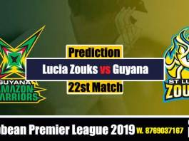 CPL 2019 Guayna vs St Lucia 22nd best tipper in india Toss Session Lambi Pari CBTF Tips