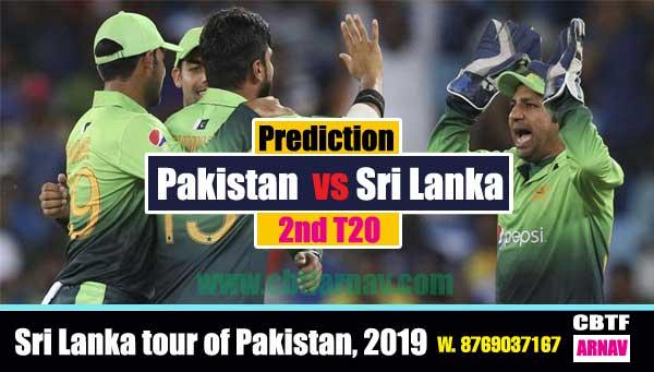 Pakistan vs Sri Lanka 2nd T20 Today Match Prediction Cricket Betting Tips CBTF