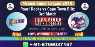 MSL 2019 CTB vs PR 3rd Today Match Prediction Cricket Betting Tips
