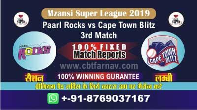 MSL 2019 CTB vs PR 3rd Today Match Prediction Cricket Betting Tips