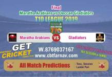 Maratha vs Deccan Match Reports & Betting Tips – Final Match T10