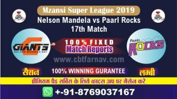 PR vs NMBG Match Prediction Reports & Betting Tips –17th Match MSL T20 2019