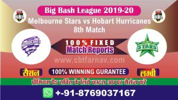 BBL T20 Hobart vs Star 8th Match Betting Tips Match Prediction Reports