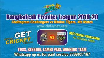 BPL T20 - Khulna vs Chattogram 4th Match Betting Tips & Match Reports