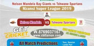 MSL 2019 - Tshwane vs Nelson Eliminator Betting Tips & Match Prediction