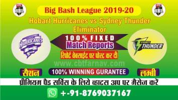 cbtf today match prediction hbh vs syt Big Bash Eliminator