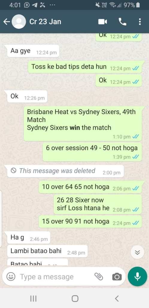 BBL 2019-20 50th Hobart Hurricanes vs Sydney Thunder Betting Tips Match Prediction Today Reports