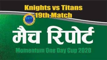 Match Prediction Titans vs Knights 19th Betting Tips Toss Fancy Lambi