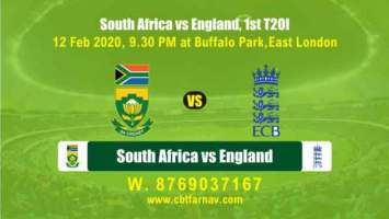 Today Match Prediction RSA vs Eng 2nd T20 Betting Tips Toss Lambi