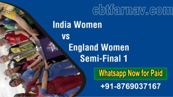 Match Prediction EN-W vs IN-W Semi-Final 1 Match Tips Toss Fancy