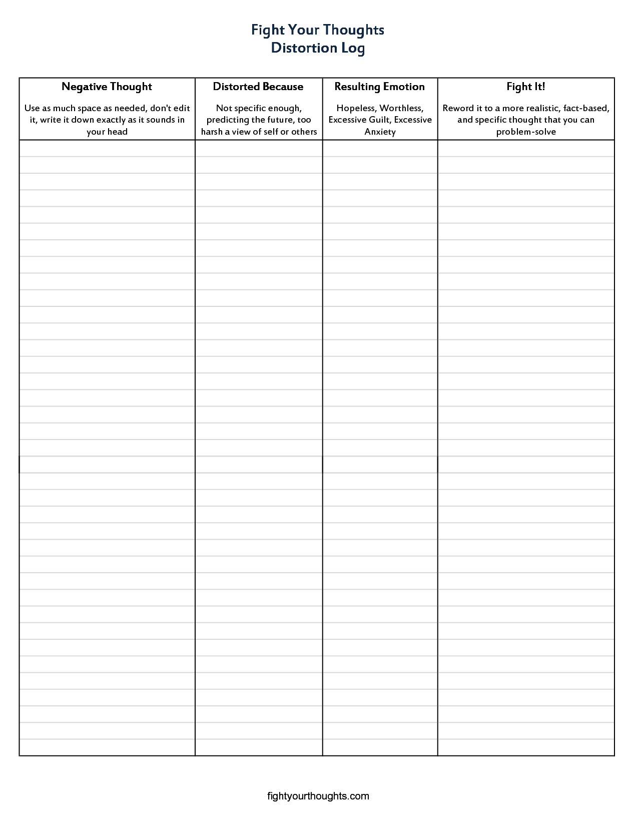 Facebook Homepage Worksheet