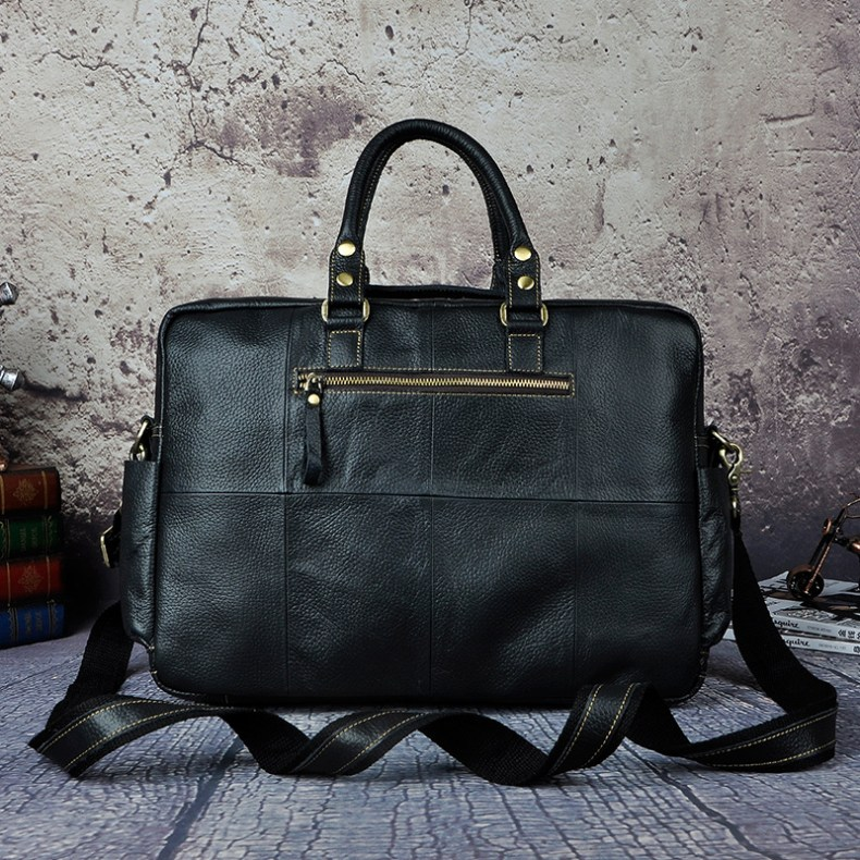 6993120291 2068518898 Original leather Men Fashion Handbag Business Briefcase Commercia Document Laptop Case Design Male Attache Portfolio Bag 3061-bu