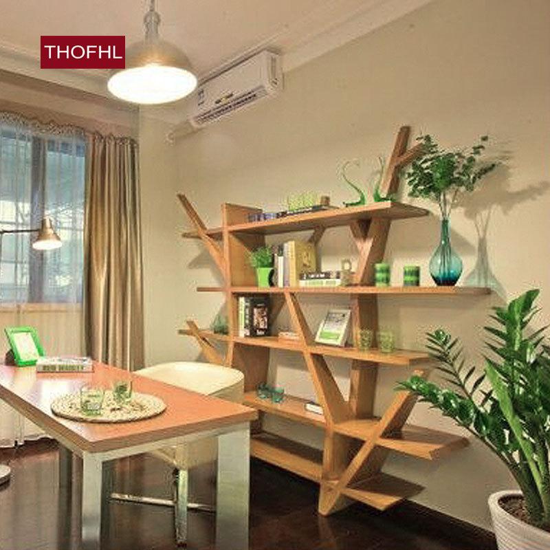 wine rack nordic wood bookcase creative
