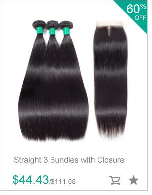 Gabrielle Hair Brazilian Physique Wave Hair Three Bundles with Closure Pure Coloration 100% Non-remy Human Hair Weave Bundles With Closure 8896222030 148029193