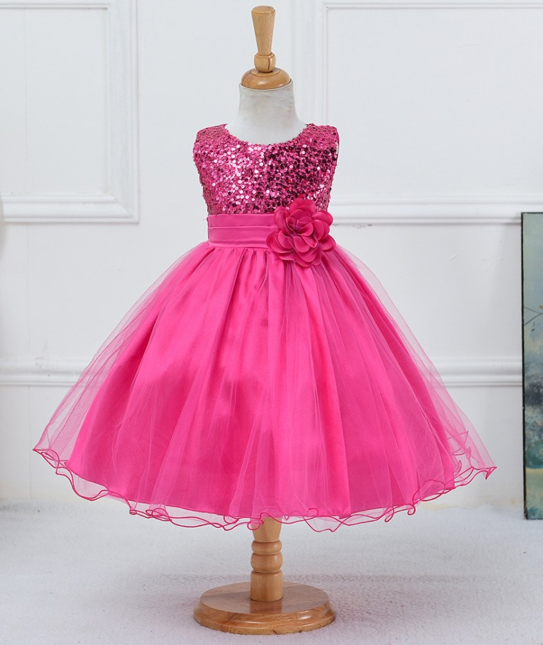 9315216260 1319078801 1-14 yrs teenagers Girls Dress Wedding Party Princess Christmas Dresse for girl Party Costume Kids Cotton Party girls Clothing