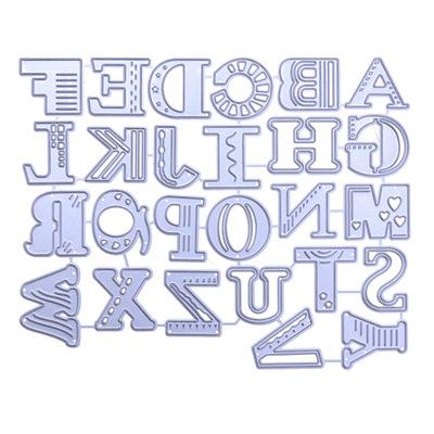 字母diy刀模_英文字母diy 碳鋼刀模 金屬切割模板h287 - 阿里巴巴