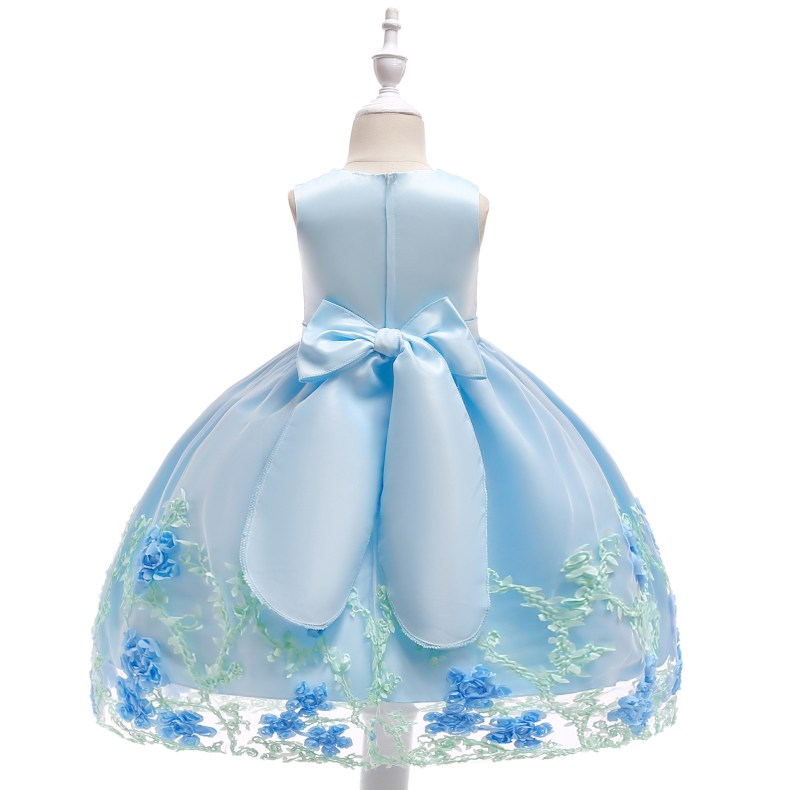 8866450103 1028449503 2019 Kids Tutu Birthday Princess Party Dress for Girls Infant Lace Children Bridesmaid Elegant Dress for Girl baby Girls Clothes