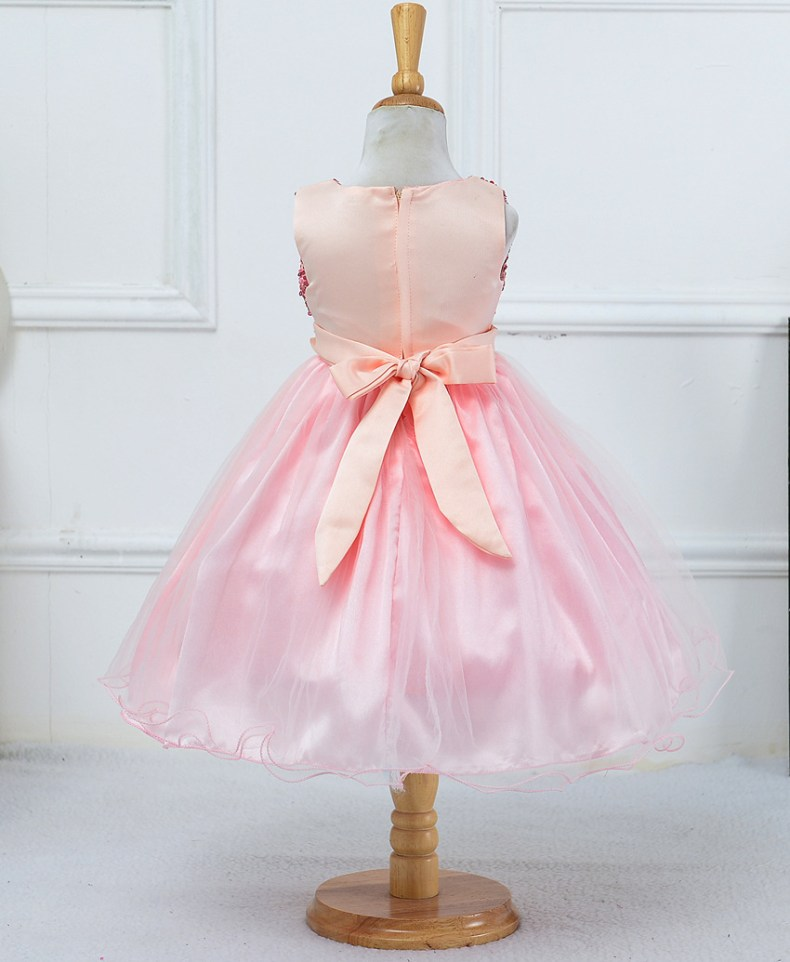9315210534 1319078801 1-14 yrs teenagers Girls Dress Wedding Party Princess Christmas Dresse for girl Party Costume Kids Cotton Party girls Clothing