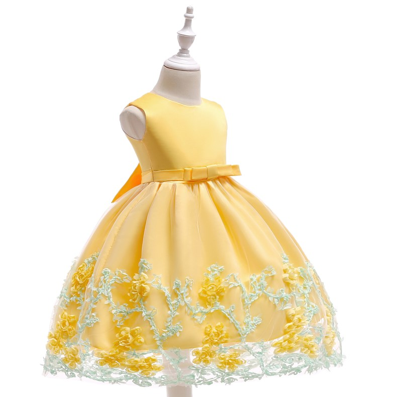 8846982874 1028449503 2019 Kids Tutu Birthday Princess Party Dress for Girls Infant Lace Children Bridesmaid Elegant Dress for Girl baby Girls Clothes