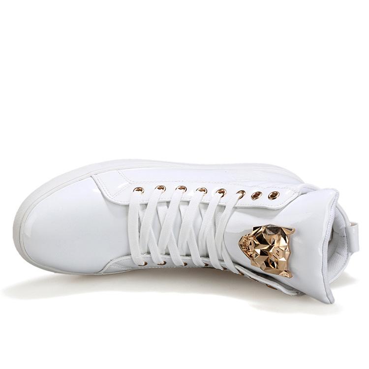 福建泉州男高帮板鞋