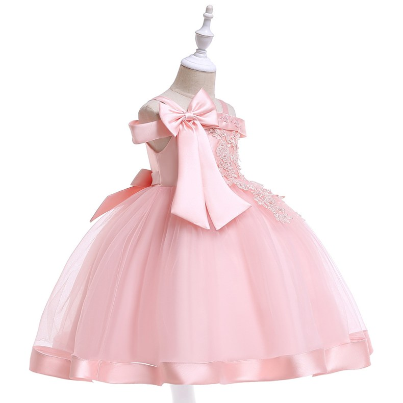 10236233429 1028449503 2019 Kids Tutu Birthday Princess Party Dress for Girls Infant Lace Children Bridesmaid Elegant Dress for Girl baby Girls Clothes