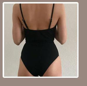 11227096816 1329338609 INGAGA Bikini 2019 One Shoulder Swimsuit Ruffle Swimwear Women Solid Women's Swimming Suit maillot de bain femme Sexy Biquini