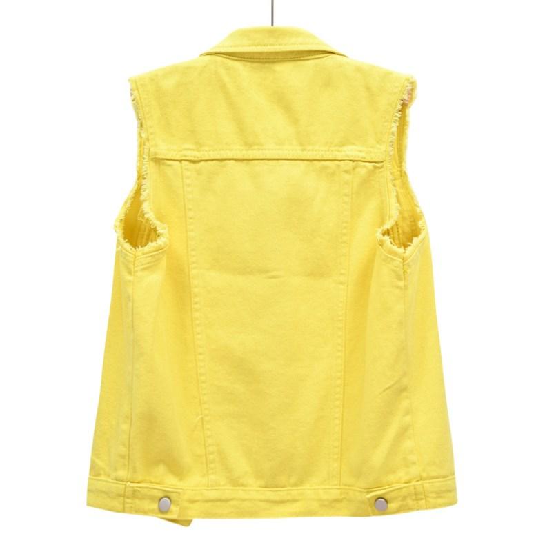 O1CN01TyNtxf29U6uTqIELb !!2206890358070 0 cib Fashion Denim Vest Female Spring Autumn Sleeveless Wild Tops Short Jacket Women Plus Size 5XL Smoky Gray Jean Waistcoat