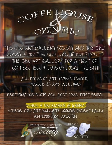 cafe open mic poster 2
