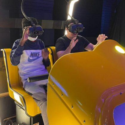 Cburg uitje VR hal