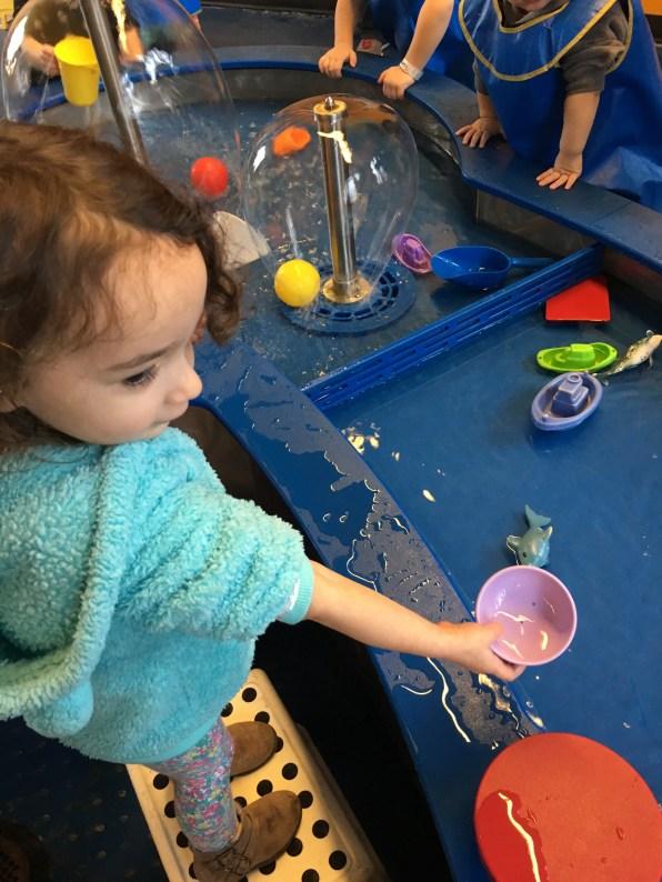 COSI Kidspace: water activity