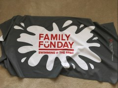 Towels from the Ohio State University Alumni Association Family Fun Day