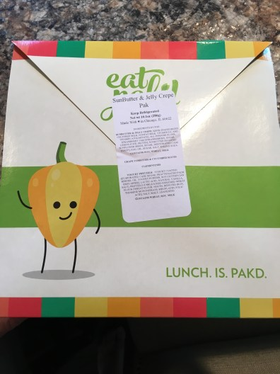 Unopened Pak from Eat Pak'd