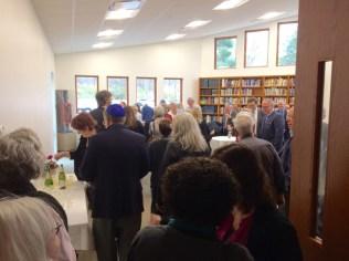 Library dedication celebration