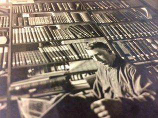 The library at Camp Sherman