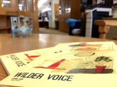 Oberlin's Wilder Voice, creative non-fiction journal