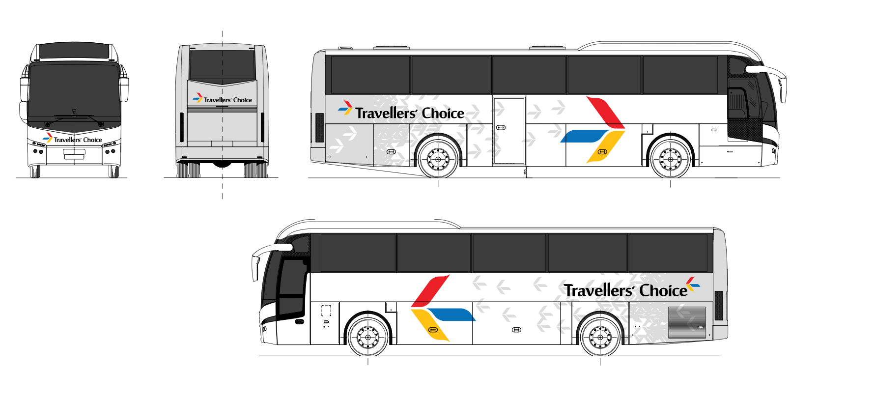 Travellers Choice Chooses Volvo Buses