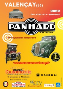 Affiche A4 - Expo PANHARD 2020